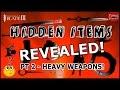 Infinity Blade 3: HIDDEN HEAVY WEAPONS REVEALED! (Part 2 Hidden Items Series)