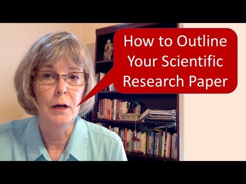How To Outline Your Scientific Research Paper