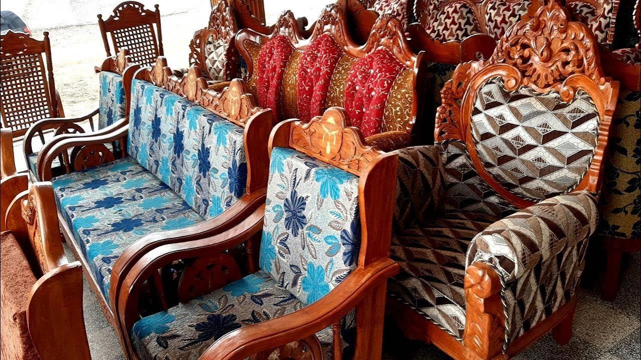 New Model Wooden Furniture Designs   Hand work Wooden Furniture   Living Room Furniture