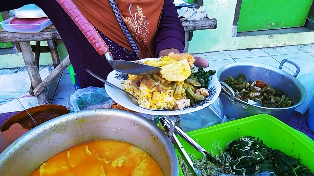 NASI JAGUNG & NASI URAP PALING ENAK !! Nasi Jagung Bu Slamet | Kuliner Bondowoso - kuliner situbondo