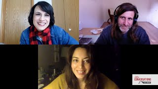 Conversations at Home with Aubrey Plaza & Lawrence Michael Levine of BLACK BEAR