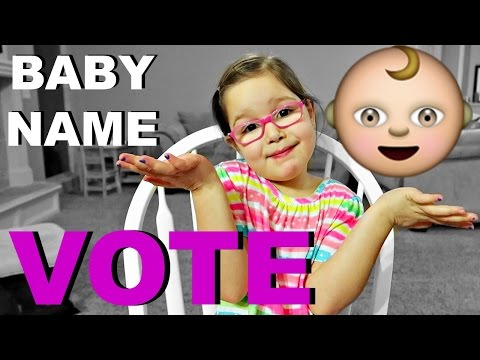 BABY NAME VOTE!