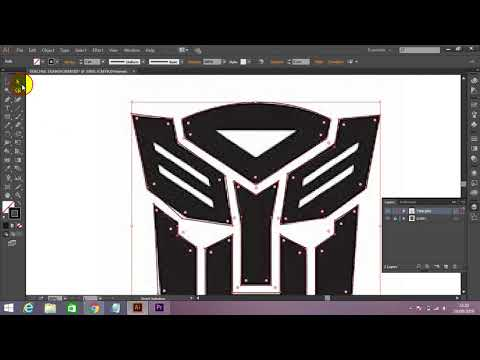 Tutorial 3 Adobe illustrator Tracing Logo thumbnail
