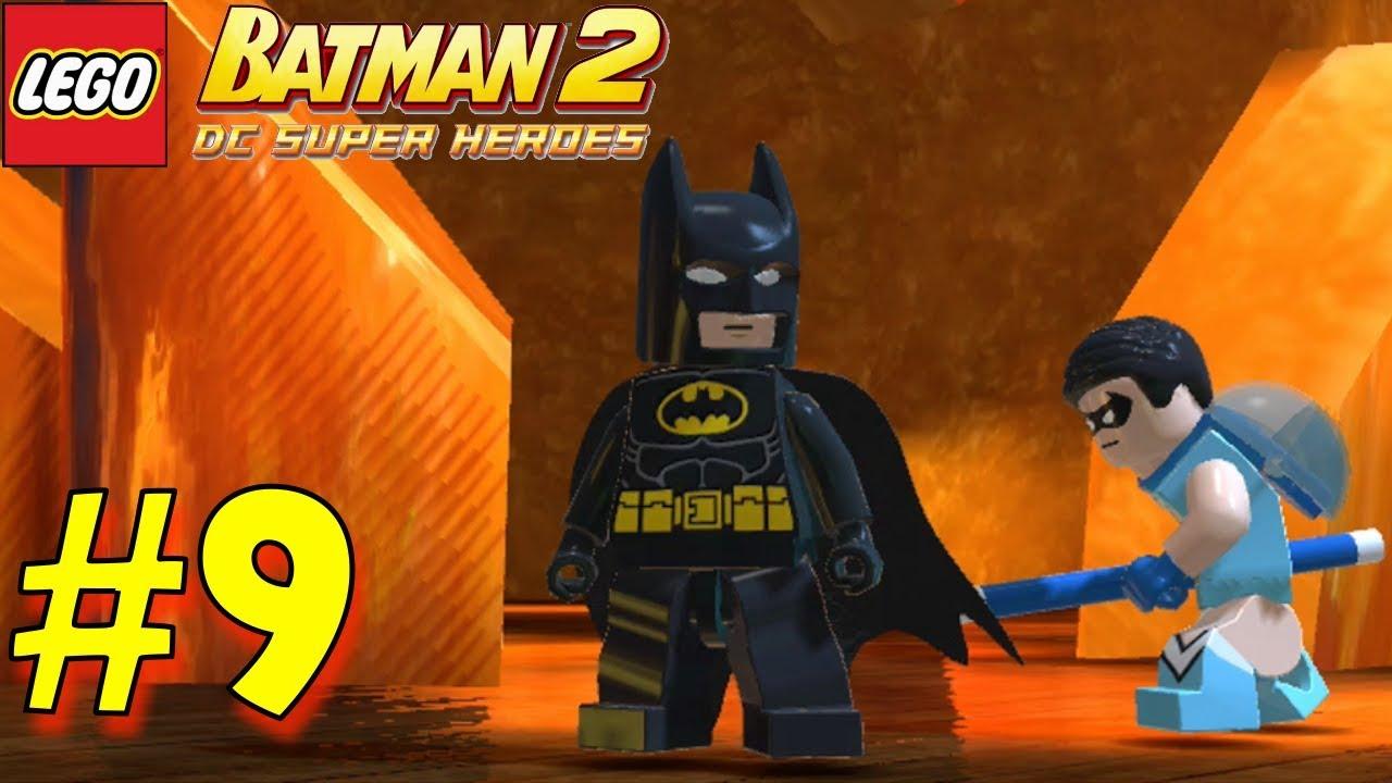 LEGO Batman 2: DC Super Heroes Walkthrough Part 9 - YouTube