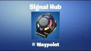 "Waypoint Skin & Reactive Signal Hub Backbling! Code: ""Drewqua_"" - PS4 Fortnite Player Gameplay LIVE"
