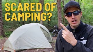 Afraid of Camping? Try this... My 9 Best Tips For Feeling Safe When Camping