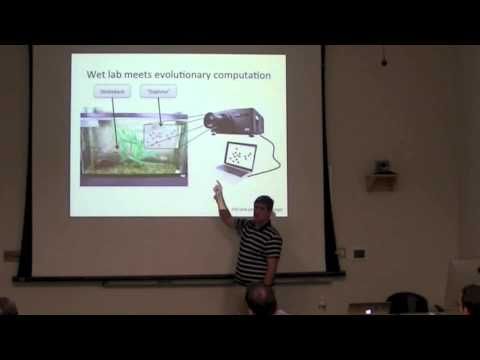 Randal Olson, 10/4/13: Biocomputational study of evolution of collective animal behavior