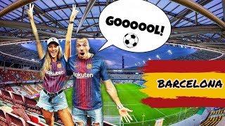 Бяхме на мач на Барселона в Испания ⚽️