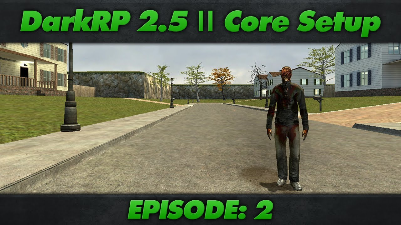 DarkRP 2 5 Core Setup : Episode 2 : Custom Jobs & Donator Jobs