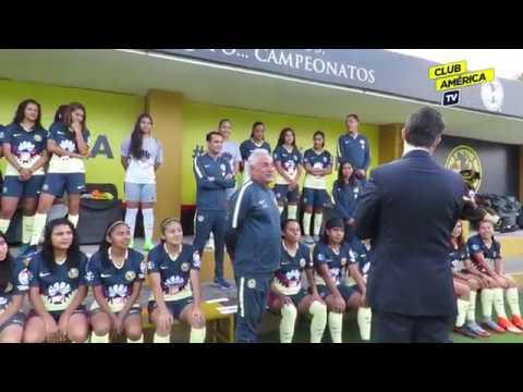 Detrás de cámaras | Foto Oficial AP17 | Club América Femenil