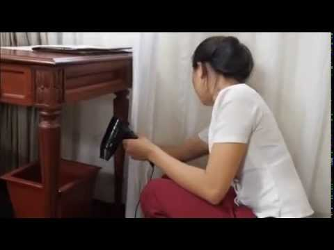 Bed making process doovi for Housekeeping bathroom cleaning procedure