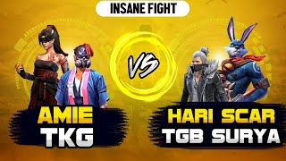 HariScar & TGB Surya vs Amie Gamer & TKG// para SAMSUNG A3,A5,A6,A7,J2,J5,J7,S5,S6,S7,A70 /FREEFIRE