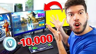 I STOLE Typical Gamer's V-BUCKS! (Fortnite PRANK)