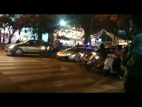 Lamborghini Caught In Guwahati Youtube