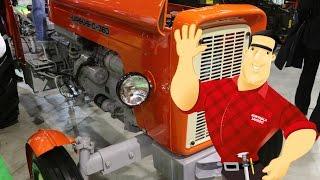 Traktor Ursus C-360 - milionowy egzemplarz (targi Agrotech 2016 Kielce ciągnik tractor)