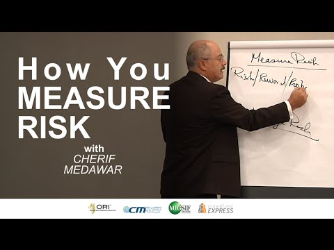 How You Measure Risk