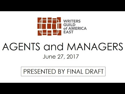 AGENTS and MANAGERS: A WGAE Panel Discussion
