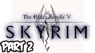 Elder Scrolls V: Skyrim Walkthrough - Part 2 - Level Up With the Stars! (Xbox 360/PS3/PC Gameplay)