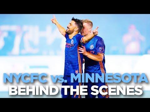 BEHIND THE SCENES | NYCFC vs. Minnesota | 06.29.17