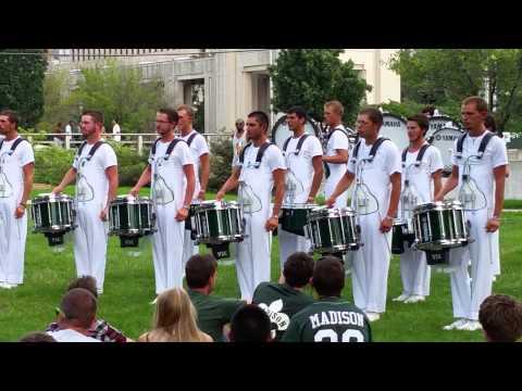 2014 Madison Scouts Drumline- Finals Lot