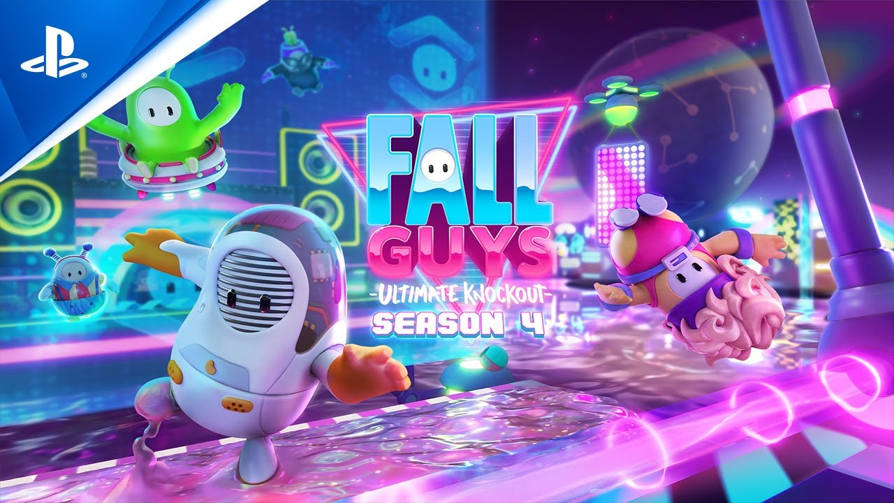 Tráiler de lanzamiento Fall Guys temporada 4