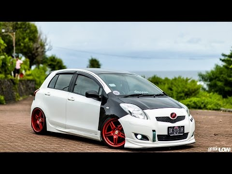 Contoh Modifikasi Toyota Yaris Lawas Keceee Youtube