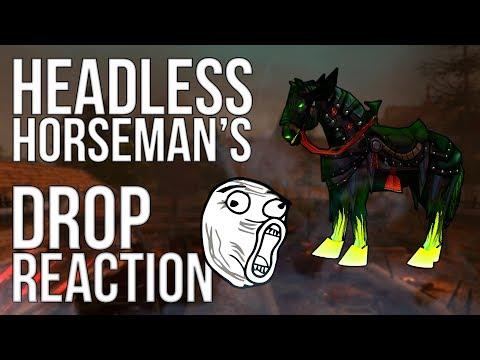 World Of Warcraft | Headless Horseman's Reins [DROP REACTION]