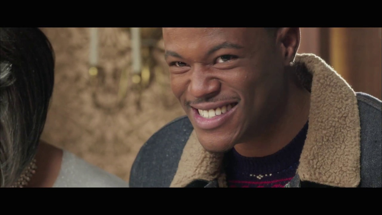 Almost Christmas Jessie Usher.Almost Christmas Exclusive Gag Reel Clip 2016