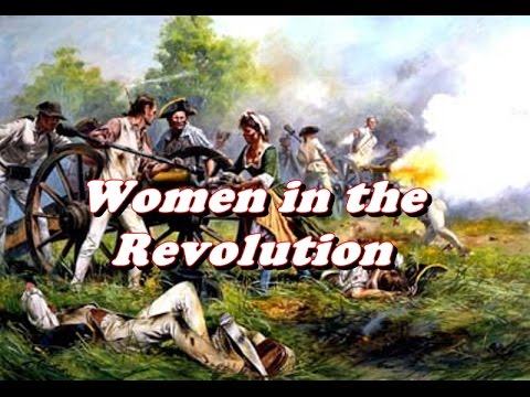 History Brief: Women in the American Revolution