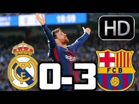 Hasil Liga Spanyol Tadi Malam Barcelona vs Real Madrid 3-0 ...