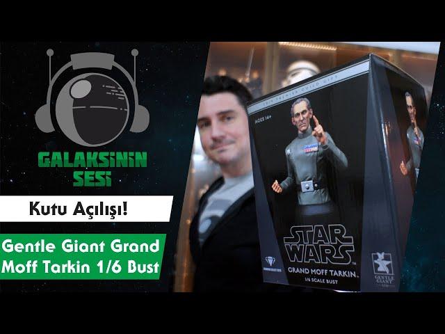 Kutu Açılışı : Gentle Giant Grand Moff Tarkin Mini-Bust - 2019 PGM Exclusive