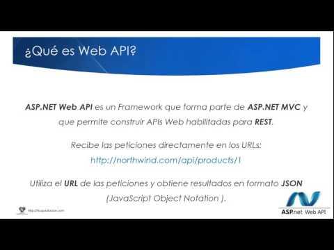 ¿Qué es Web API?