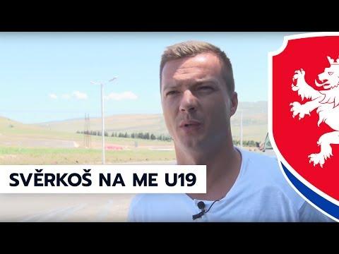 Bývalý reprezentant Václav Svěrkoš na ME U19 v Gruzii (2. 7. 2017)