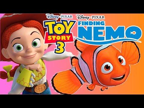 TOY STORY 3 ESPAÑOL BUSCANDO A NEMO!! (Juego de la Pelicula Disney Pixar) by Juegos de Pelicula
