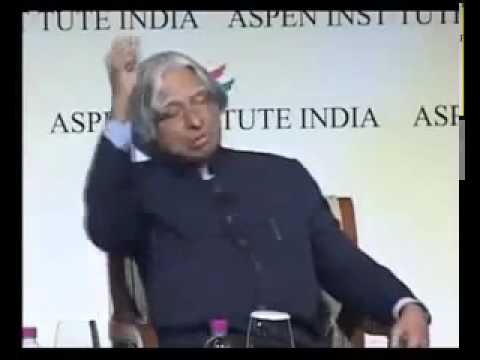 Dr. A P J Abdul Kalam's one of the inspirational speech