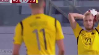 Malta vs Lithuania 1-1 (GOALS HIGHLIGHTS) FIFA WC Qualification UEFA 05-10-2017