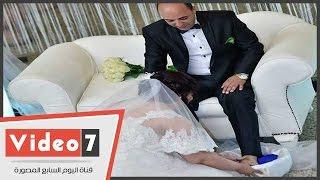 """عروسة جسر السويس : أنا مش """"أمينة""""وغسلت رجل عريسى حباً فيه"""