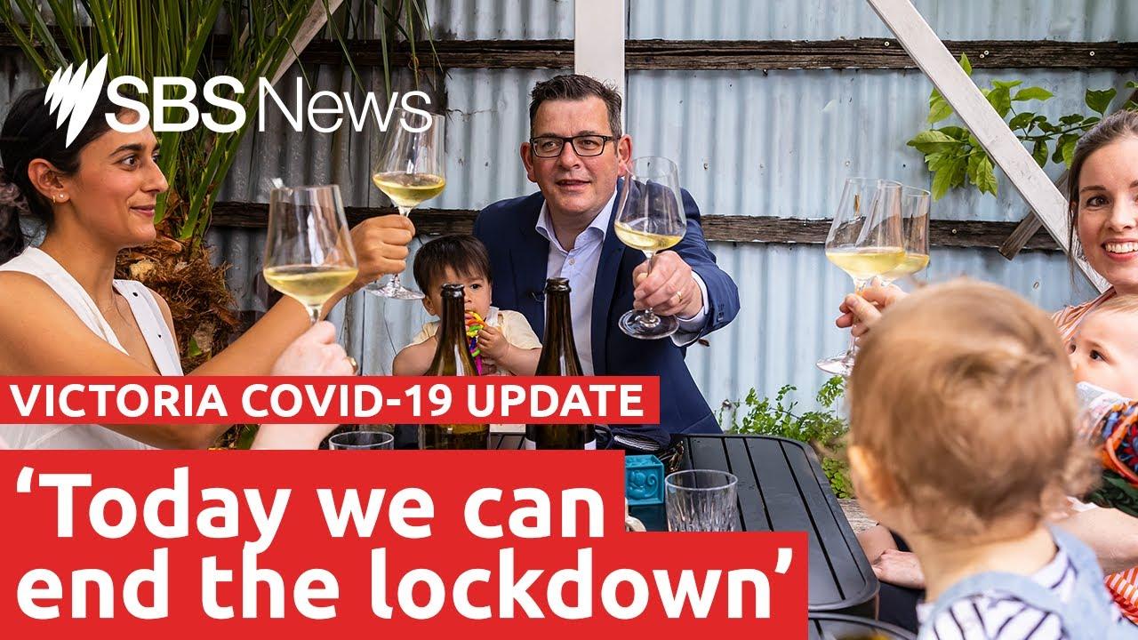 Celebrations as Victoria exits lockdown   SBS News