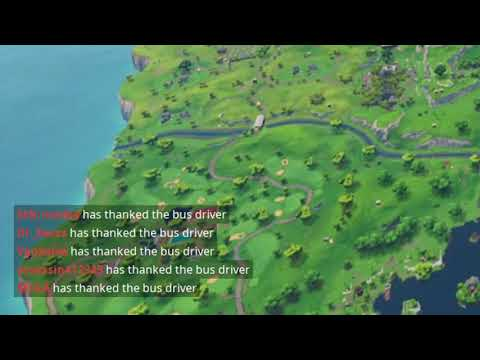 Fortnite Has Added 'Thank The Bus Driver' Meme