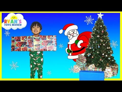 Thumbnail: Christmas Morning 2015 Opening Presents Surprise Toys Ryan ToysReview