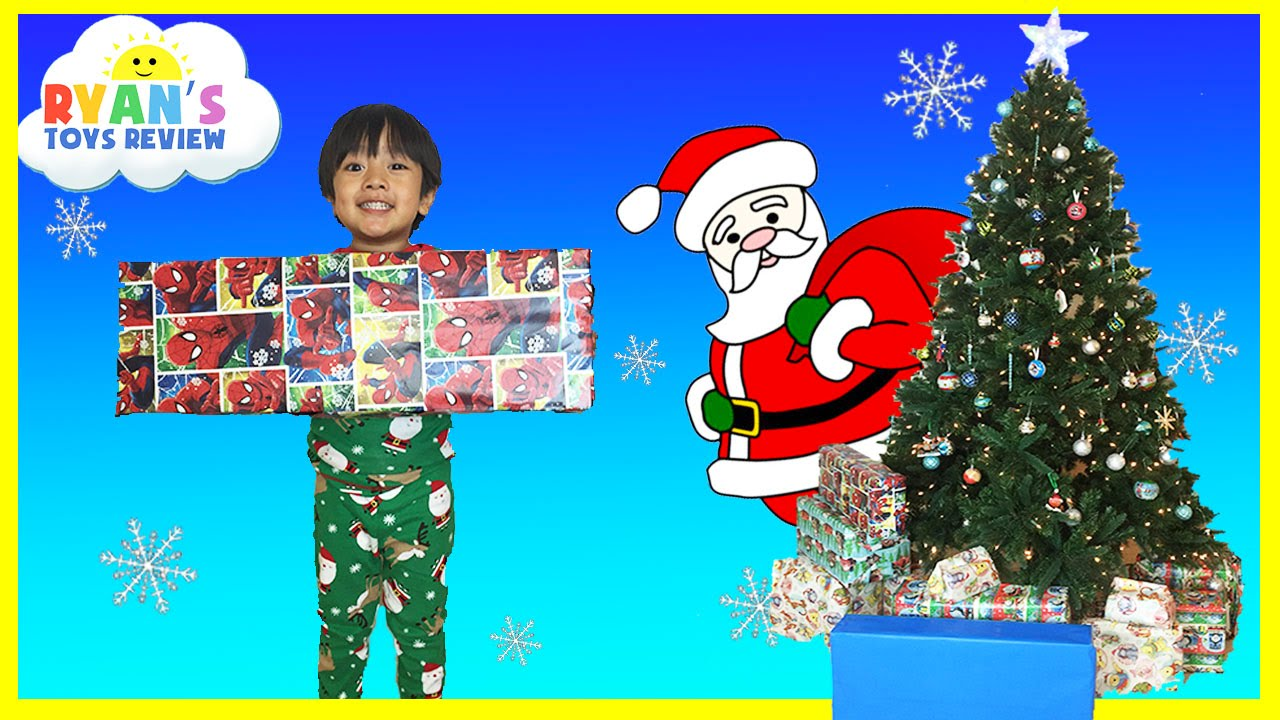 christmas morning 2015 opening presents surprise toys ryan toysreview youtube - When Is Christmas In 2015