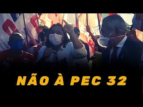 Intersindical contra a PEC 32 em Brasília