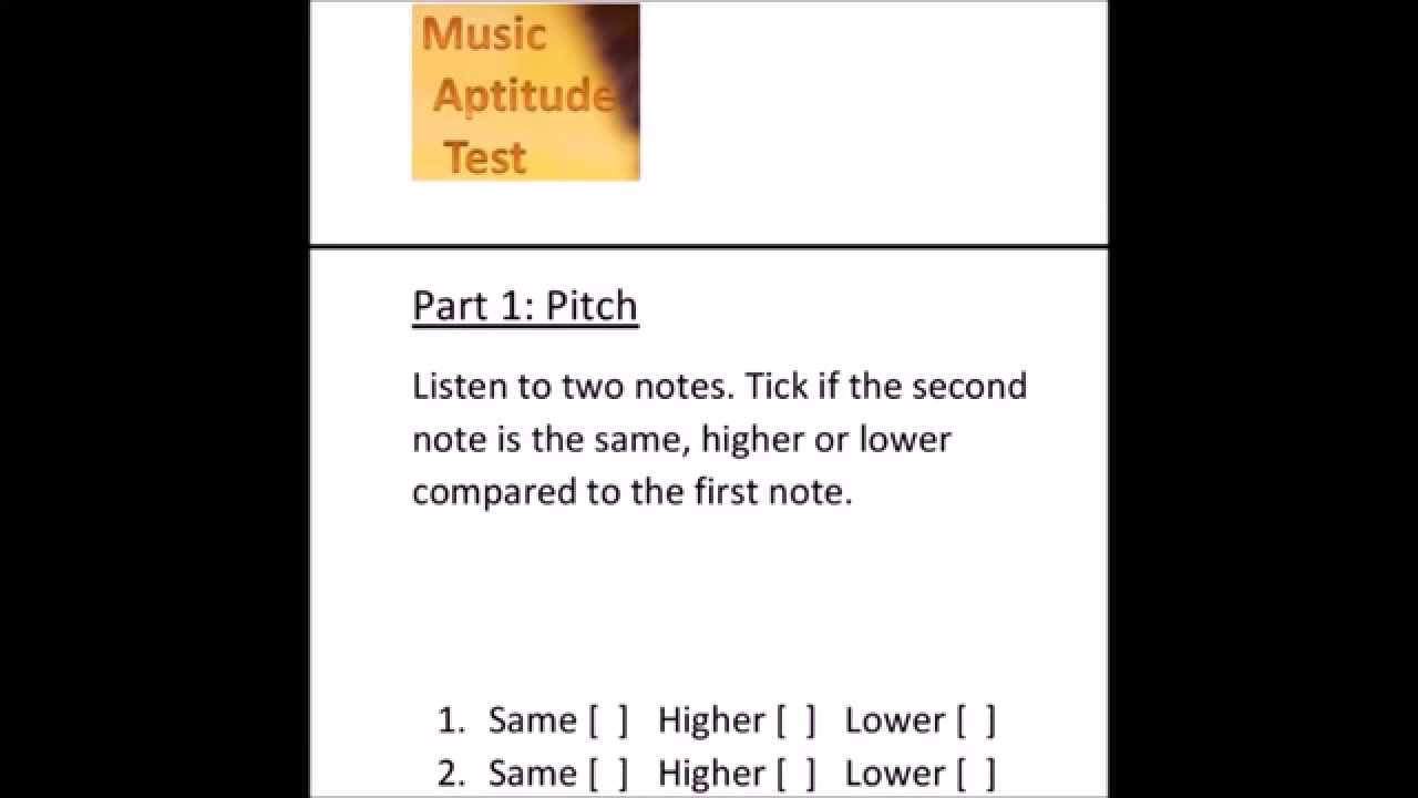 music aptitude test sample questions answers music aptitude test sample questions answers