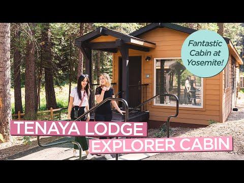Tenaya Lodge At Yosemite Explorer Cabins - Review Of Cabin + Fun Activities!