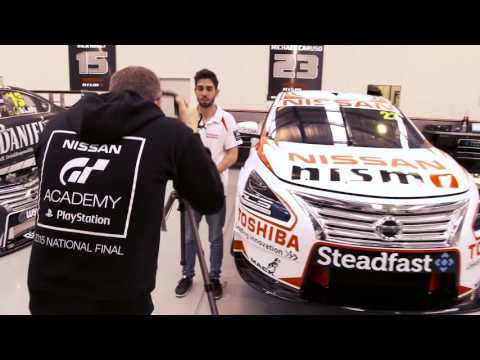 From Gamer to Racer – Australia's first GT Academy Champion Matthew Simmons.