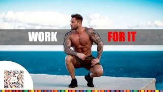 WORK FOR IT - Aesthetic Fitness Motivation
