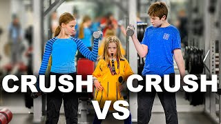 Strength Challenge vs Crush *EMOTIONAL*