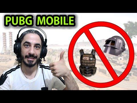 KASKSIZ VE YELEKSİZ CHALLENGE - PUBG Mobile