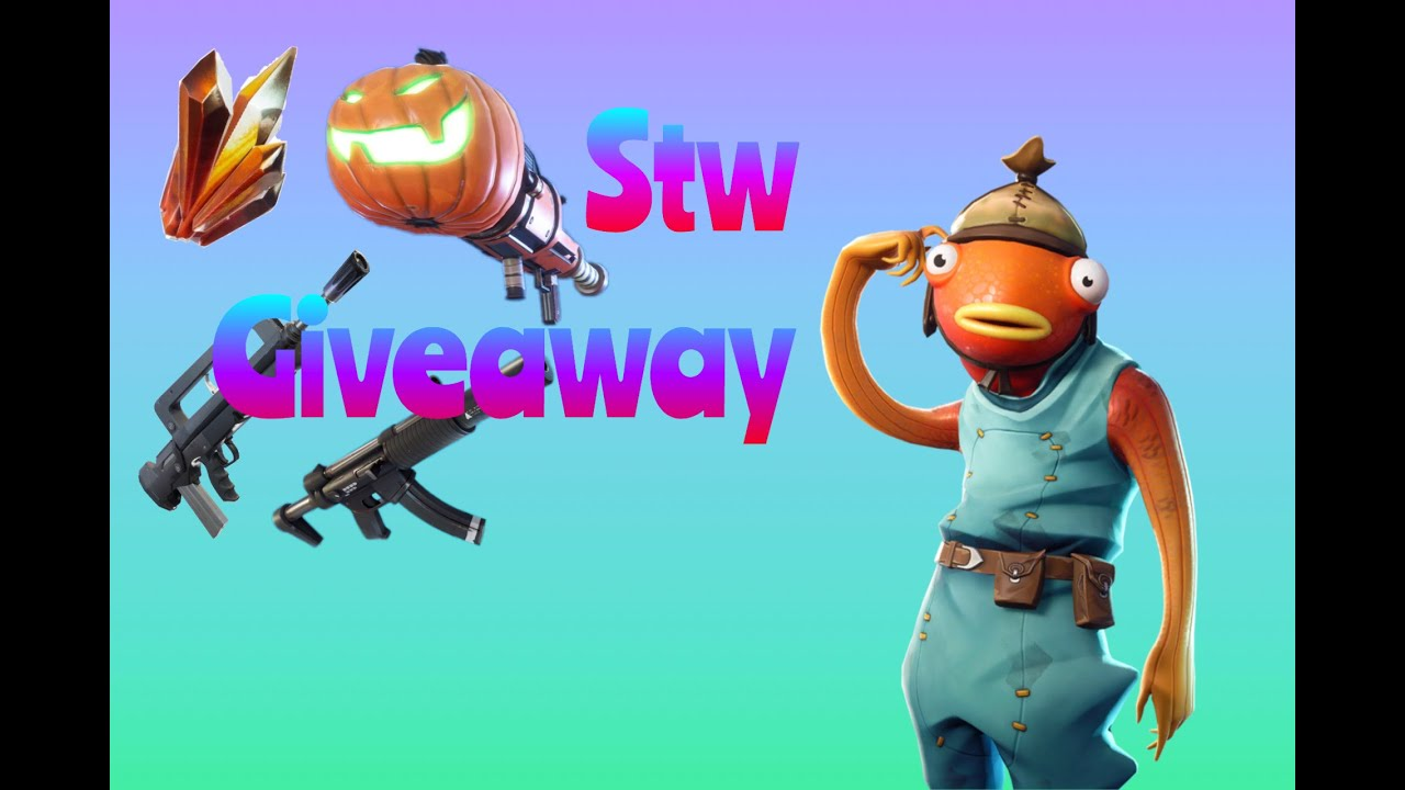 Fortnite Save The World Givaway 130s For Mats!