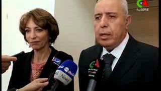 تغطية التلفزيون الجزائري لزيارة وزير العمل والتشغيل والضمان الاجتماعي السيد محمد الغازي إلى فرنسا